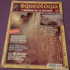 Libros de segunda mano: REVISTA ARQUEOLOGÍA Y ENIGMAS DE LA HISTORIA - AÑO I - 1996 - Nº 1 (COMO NUEVA). Lote 150505418