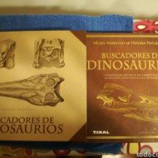 Libros de segunda mano: LIBRO BUSCADORES DE DINOSAURIOS SOBRE LOS PALEONTOLOGOS DESCUBRIDORES DE FOSILES PREHISTORICOS.. Lote 150677716