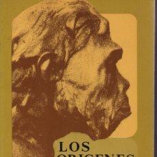 Libros de segunda mano: LOS ORÍGENES DE LA CIVILIZACIÓN. Lote 151333560