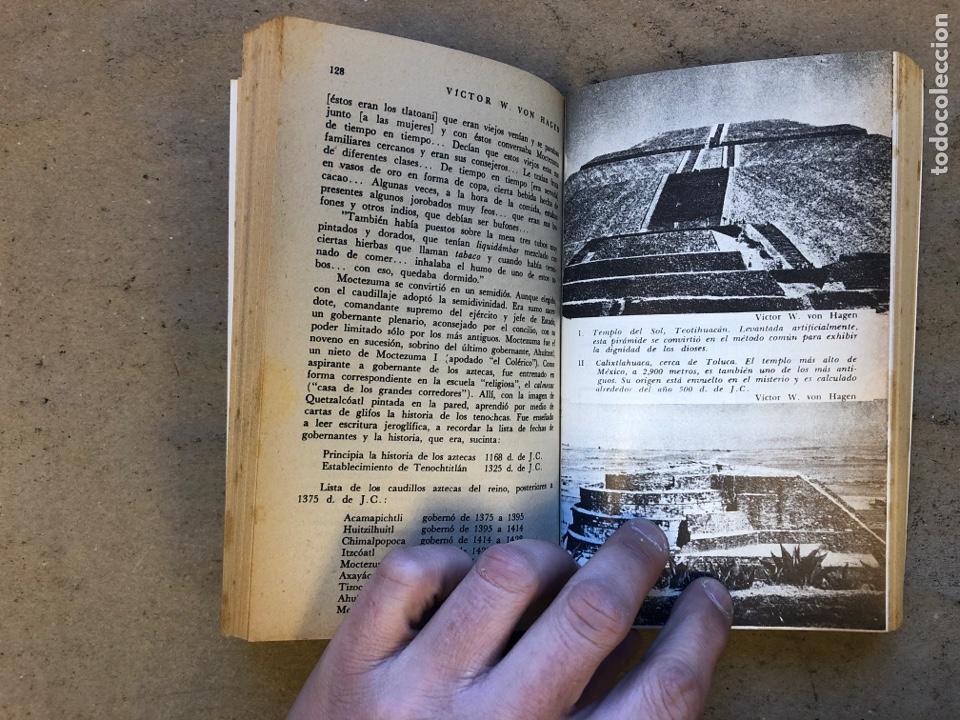 Libros de segunda mano: LOS AZTECAS (HOMBRE Y TRIBU). VICTOR W. VON HAGEN. EDITORIAL DIANA 1966. - Foto 5 - 151476600