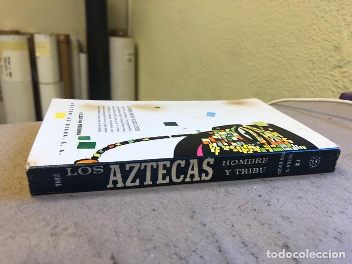 Libros de segunda mano: LOS AZTECAS (HOMBRE Y TRIBU). VICTOR W. VON HAGEN. EDITORIAL DIANA 1966. - Foto 9 - 151476600
