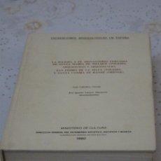 Libros de segunda mano: EXCAVACIONES ARQUEOLOGICAS EN ESPAÑA - STA. MARIA MELQUE (TOLEDO)SAN PEDRO MATA Y STA.COMBA-ORENSE. . Lote 151545422