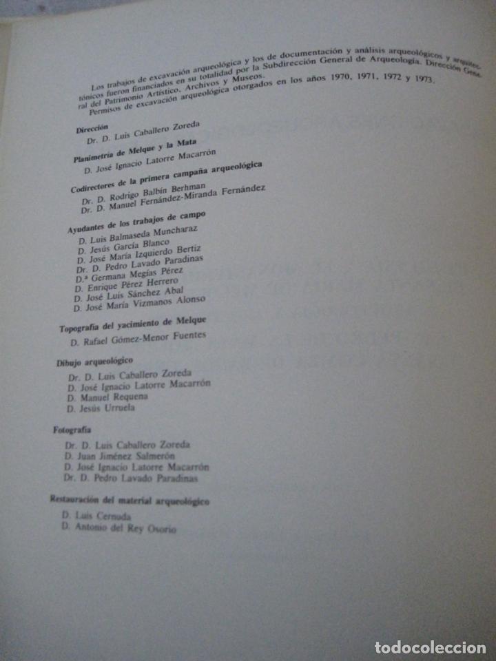 Libros de segunda mano: EXCAVACIONES ARQUEOLOGICAS EN ESPAÑA - STA. MARIA MELQUE (TOLEDO)SAN PEDRO MATA Y STA.COMBA-ORENSE. - Foto 3 - 151545422