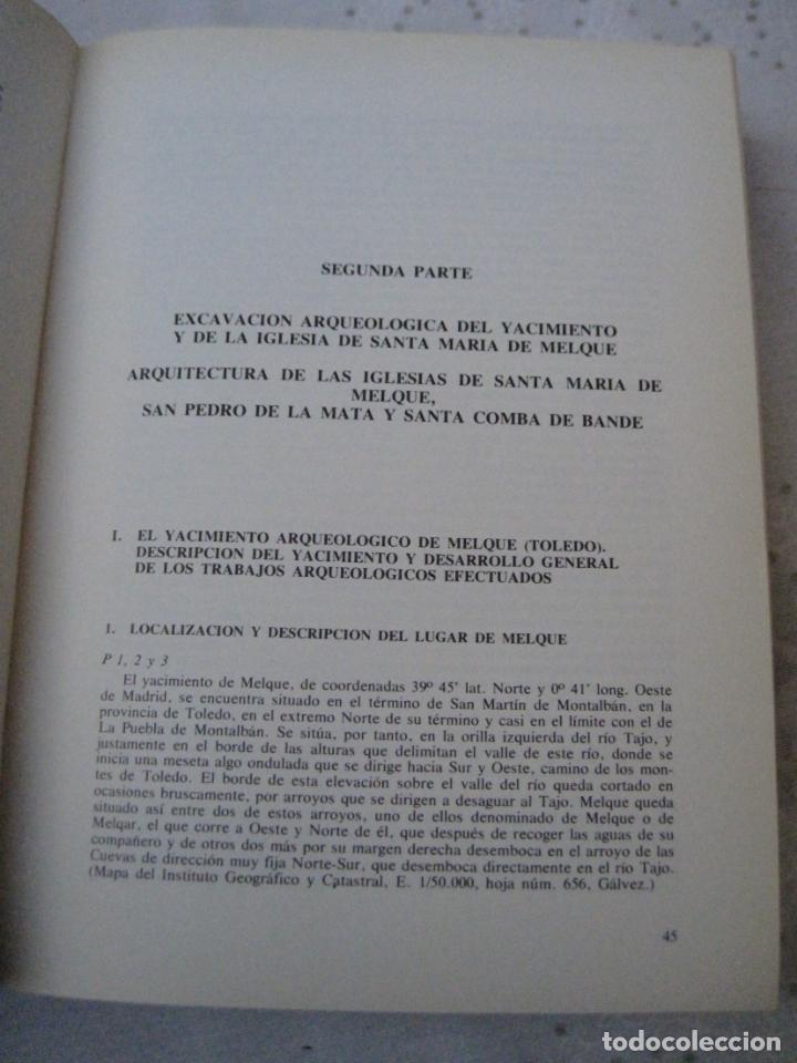 Libros de segunda mano: EXCAVACIONES ARQUEOLOGICAS EN ESPAÑA - STA. MARIA MELQUE (TOLEDO)SAN PEDRO MATA Y STA.COMBA-ORENSE. - Foto 15 - 151545422