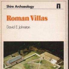 Libros de segunda mano: ROMAN VILLAS. Lote 152039893