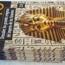 Libros de segunda mano: LOTE DE 32 FASCÍCULOS - EGIPTO / DESCUBRE LOS GRANDES ENIGMAS DEL IMPERIO DE LOS FARAONES - VER. Lote 155395310