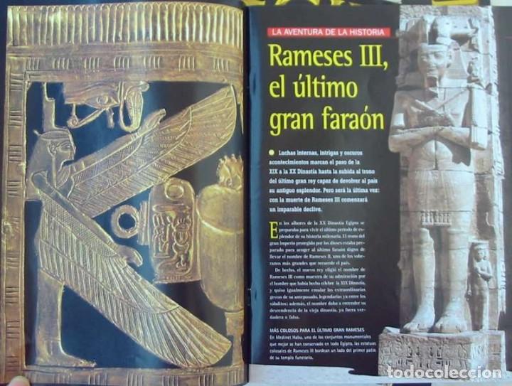 Libros de segunda mano: LOTE DE 32 FASCÍCULOS - EGIPTO / DESCUBRE LOS GRANDES ENIGMAS DEL IMPERIO DE LOS FARAONES - VER - Foto 4 - 155395310