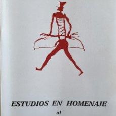 Libros de segunda mano: ESTUDIOS EN HOMENAJE AL DR. ANTONIO BELTRÁN MARTÍNEZ - VV.AA. - 1986 - ARQUEOLOGÍA ARAGÓN. Lote 155420070