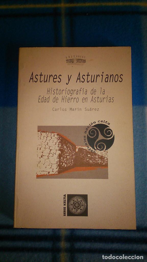 ASTURES Y ASTURIANOS. HISTORIOGRAFÍA DE LA EDAD DE HIERRO EN ASTURIAS. 2005. TOXOSOUTOS.SERIE KELTIA (Libros de Segunda Mano - Ciencias, Manuales y Oficios - Arqueología)