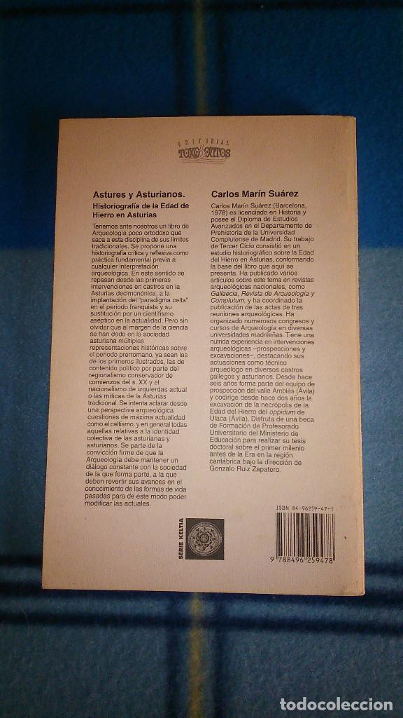 Libros de segunda mano: Astures y Asturianos. Historiografía de la Edad de Hierro en Asturias. 2005. ToxoSoutos.Serie Keltia - Foto 2 - 156498138