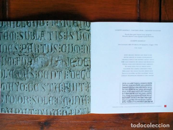 Libros de segunda mano: FRAMMENTI DI STORIA. Materiali lapidei dell´Etá Moderna nelle collezioni dell exMuseo Civico di Agri - Foto 3 - 156569770