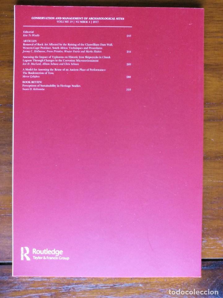 Libros de segunda mano: CONSERVATION AND MANAGEMENT OF ARCHAEOLOGICAL SITES - Foto 2 - 156569818