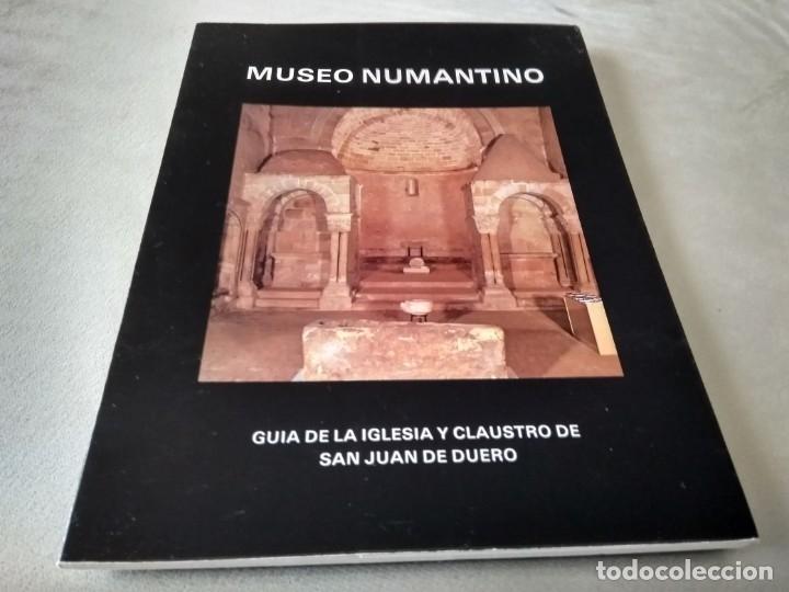 GUÍA DE LA IGLESIA Y CLAUSTRO DE SAN JUAN DE DUERO (Libros de Segunda Mano - Ciencias, Manuales y Oficios - Arqueología)