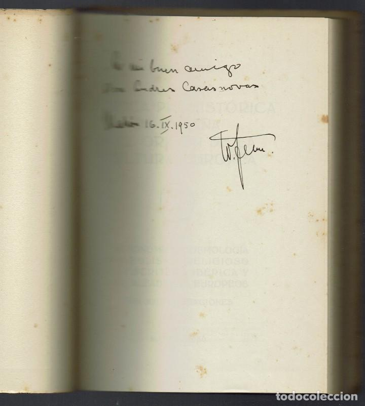 Libros de segunda mano: GRÁFICA PREHISTÓRICA DE ESPAÑA Y EL ORIGEN DE LA CULTURA EUROPEA.W. FENN.DEDICADO. 1950(MENORCA.1.2) - Foto 2 - 156925230