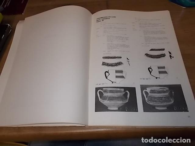 Libros de segunda mano: LES CERÀMIQUES ALMOHADES DEL CARRER DE ZAVELLÀ. CIUTAT DE MALLORCA. MARGALIDA ROSSELLÓ. 1983 - Foto 4 - 156966334