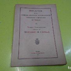 Libros de segunda mano: BOLETÍN BURGOS, MILENARIO DE CASTILLA, NÚMERO EXTRAORDINARIO, 1943. Lote 160660390