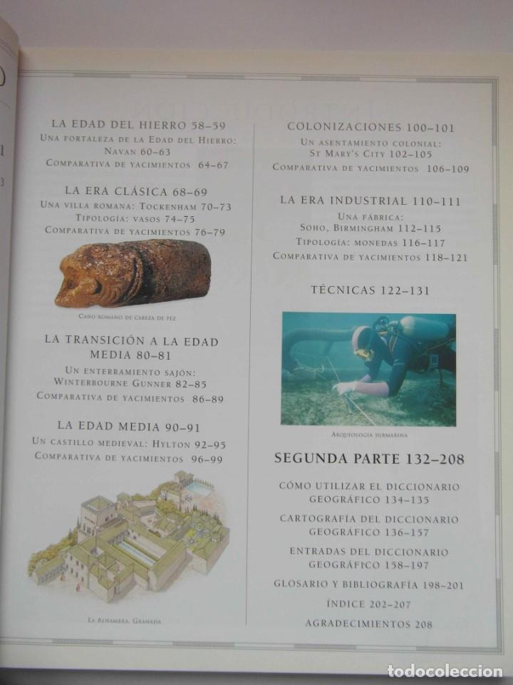 Libros de segunda mano: ATLAS DE ARQUEOLOGIA. MICK ASTON Y TIM TAYLOR. DEBIBL - Foto 4 - 162852154