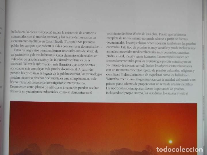 Libros de segunda mano: ATLAS DE ARQUEOLOGIA. MICK ASTON Y TIM TAYLOR. DEBIBL - Foto 6 - 162852154