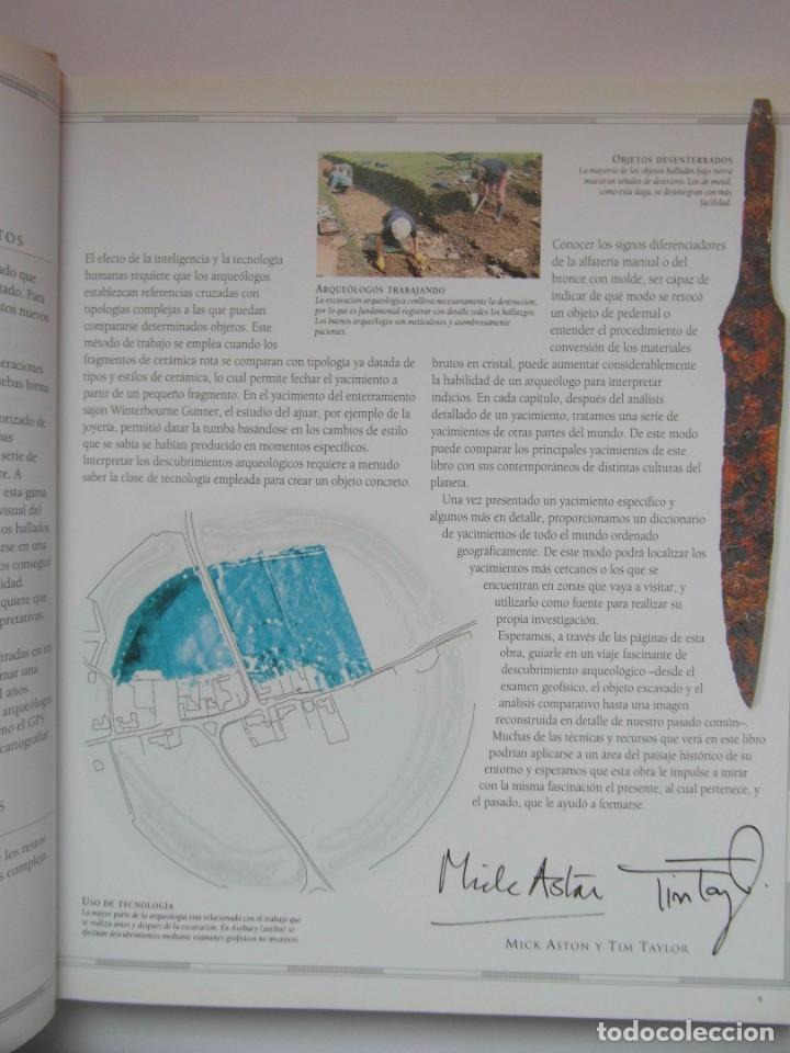 Libros de segunda mano: ATLAS DE ARQUEOLOGIA. MICK ASTON Y TIM TAYLOR. DEBIBL - Foto 8 - 162852154