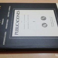 Libros de segunda mano: CESARAUGUSTA 1 REEDICION/ ARQUEOLOGIA PREHISTORIA HISTORIA ANTIGUA/ INSTITUCION FERNANDO EL CA. Lote 163306862
