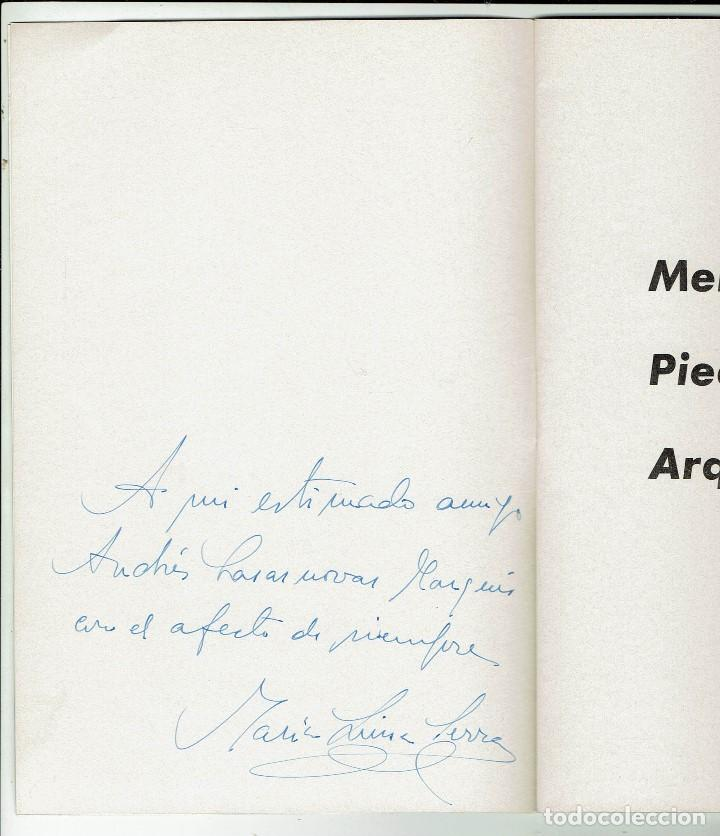 Libros de segunda mano: MENORCA PIEDRA Y ARQUEOLOGÍA, Mª LUISA SERRA BELABRE. DEDICADO POR LA AUTORA. AÑO 1964 (MENORCA.3.3) - Foto 2 - 163479558