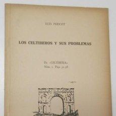 Libri di seconda mano: LOS CELTÍBEROS Y SUS PROBLEMAS - LUIS PERICOT. Lote 165351938