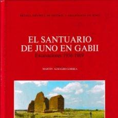 Libros de segunda mano: EL SANTUARIO DE JUNO EN GABII (M. ALMAGRO GORBEZ 1982) SIN USAR. Lote 167883540