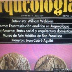Libros de segunda mano: 70 REVISTAS DE ARQUEOLOGIA TODAS DISTINTAS DESDE LOS AÑOS 80-90 PRECIOSAS. Lote 168519784