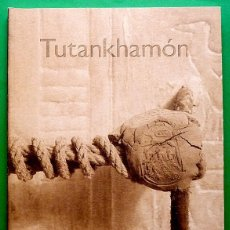 Libri di seconda mano: TUTANKHAMÓN, IMÁGENES DE UN TESORO BAJO EL DESIERTO EGIPCIO- MUSEU EGIPCI - 2004 - NUEVO - INDICE. Lote 169615228