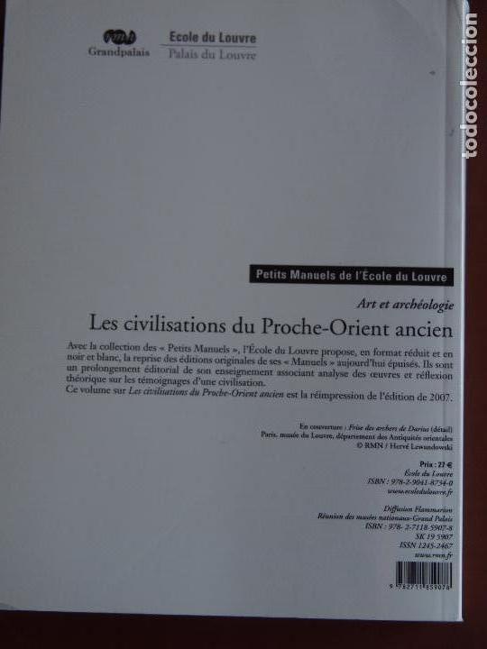 Libros de segunda mano: Les civilisations du Proche-Orient ancient Agnés Benoit Louvre - Foto 2 - 171434825