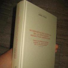 Libros de segunda mano: INTERPRETACIÓN ESTETICA DE LA ESTATUARÍA MEGALITICA AMERICANA JORGE OTEIZA -ENVÍO CERTIFICADO 9,99. Lote 174383070