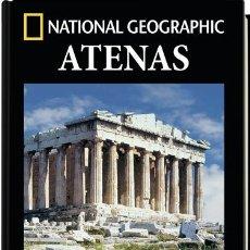 Libros de segunda mano: ATENAS. ARQUEOLOGÍA. NATIONAL GEOGRÁPHIC GRAFICOS DIBUJOS Y FOTOGRAFIAS IMPRESIONANTES. Lote 174409375