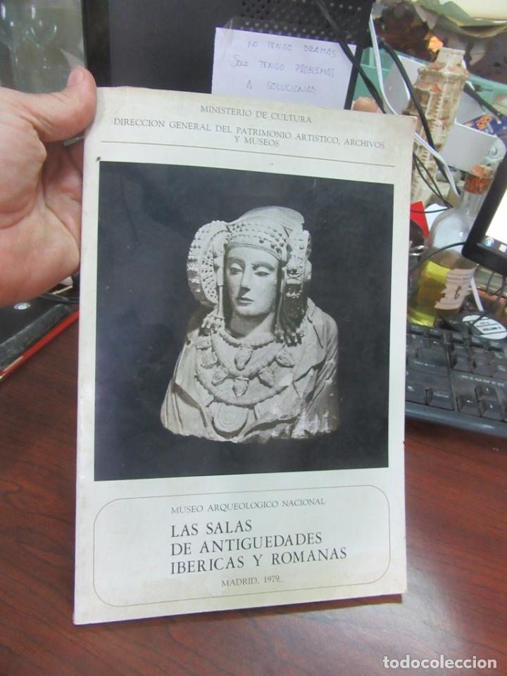 LAS SALAS DE ANIGUEDADES IBÉRICAS Y ROMANAS, MADRID 1979. L.5798-781 (Libros de Segunda Mano - Ciencias, Manuales y Oficios - Arqueología)