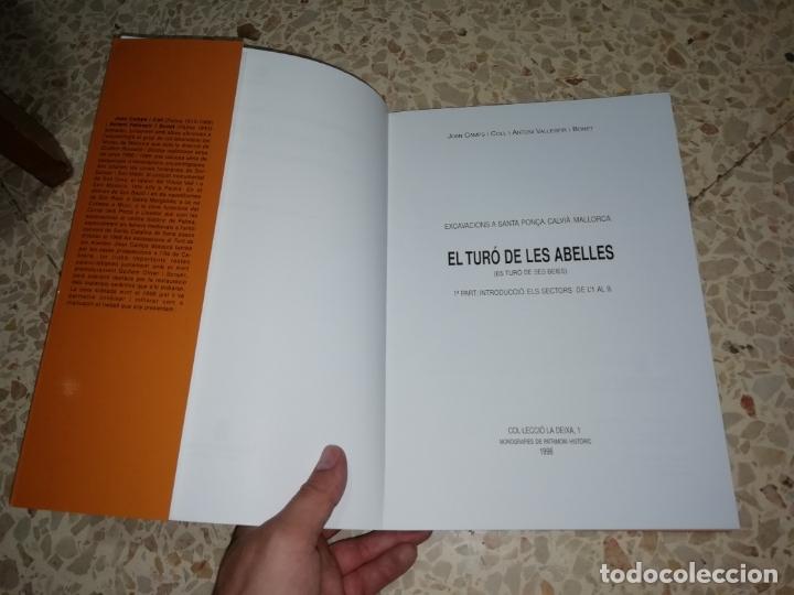 Libros de segunda mano: EL TURÓ DE LES ABELLES . EXCAVACIONS A SANTA PONÇA . JOAN CAMPS - ANTONI VALLESPIR . 1998 . MALLORCA - Foto 3 - 175258949