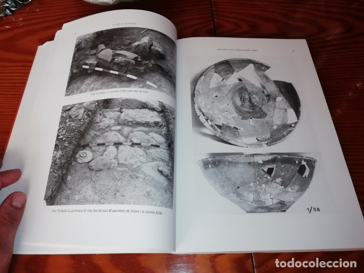 Libros de segunda mano: EL TURÓ DE LES ABELLES . EXCAVACIONS A SANTA PONÇA . JOAN CAMPS - ANTONI VALLESPIR . 1998 . MALLORCA - Foto 11 - 175258949
