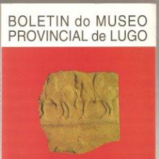 Libros de segunda mano: BOLETIN DO MUSEO PROVINCIAL DE LUGO VII VOLS 1 & 2 1995/96. Lote 175424127