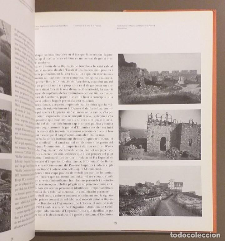 Libros de segunda mano: Imatges d'Empúries. VV.AA. Diputació de Barcelona. 1993. 29 cm. A color. Muy buen estado!!! - Foto 2 - 175765219