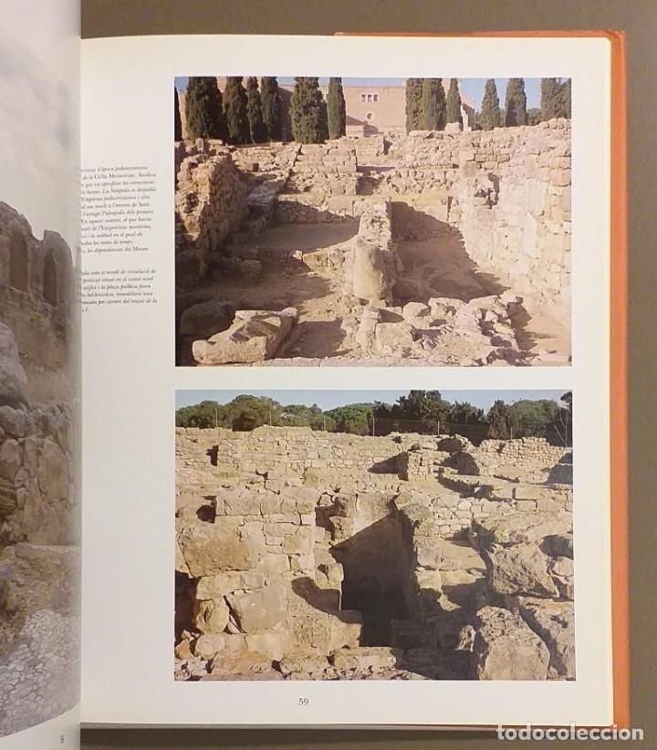 Libros de segunda mano: Imatges d'Empúries. VV.AA. Diputació de Barcelona. 1993. 29 cm. A color. Muy buen estado!!! - Foto 3 - 175765219