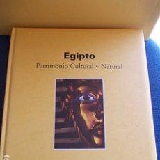 Libros de segunda mano: EGIPTO PATRIMONIO CULTURAL Y NATURAL . Lote 177566204