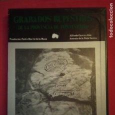 Libros de segunda mano: GRABADOS RUPESTRES EN LA PROVINCIA DE PONTEVEDRA. ALFREDO GARCÍA ALÉN.. Lote 179126581