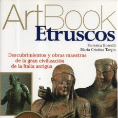 Livros em segunda mão: VESIV LIBRO ART BOOK ETRUSCOS FEDERICA BORRELLI MARIA CRISTINA TARGIA . Lote 181718285