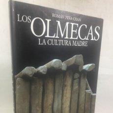 Libros de segunda mano: LOS OLMECAS: LA CULTURA MADRE. ROMÁN PIÑA CHAN. EDITORIAL: LUNWERG, BARCELONA 1990. Lote 182705642
