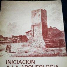 Libros de segunda mano: ALICANTE - INICIACIÓN A LA ARQUEOLOGIA ALICANTINA - ENRIQUE A. LLOBREGAT CONESA - 1976. Lote 232847355