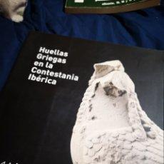 Libros de segunda mano: HUELLAS GRIEGAS EN LA CONTESTANIA IBÉRICA - MARQ. Lote 183041636