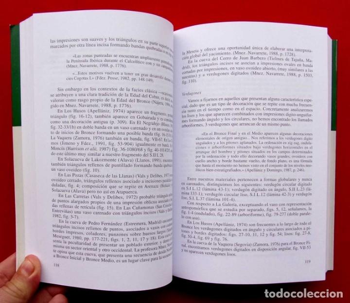 Libros de segunda mano: ESTUDIOS SOBRE ATAPUERCA. BURGOS. AÑO: 2005. LOS MATERIALES DEL BRONCE FINAL.PORTALÓN. CUEVA MAYOR. - Foto 4 - 183200066