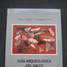 Libros de segunda mano: GUIA ARQUEOLOGICA DEL VALLE DE MATARRAÑA. 1º ED. 1987. Lote 231903490