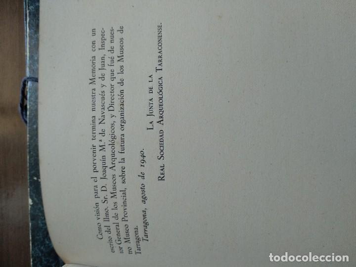 Libros de segunda mano: LOS MONUMENTOS ARQUEOLOGICOS Y TESORO ARTISTICO DE TARRAGONA Y PROV. 1936-1939 - Foto 5 - 185714961