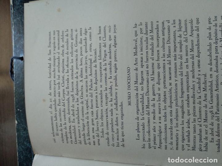 Libros de segunda mano: LOS MONUMENTOS ARQUEOLOGICOS Y TESORO ARTISTICO DE TARRAGONA Y PROV. 1936-1939 - Foto 6 - 185714961
