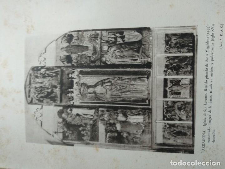 Libros de segunda mano: LOS MONUMENTOS ARQUEOLOGICOS Y TESORO ARTISTICO DE TARRAGONA Y PROV. 1936-1939 - Foto 7 - 185714961