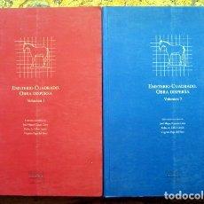 Libros de segunda mano: EMETERIO CUADRADO. OBRA DISPERSA. VOLUMEN 1 Y 2. . Lote 187319777